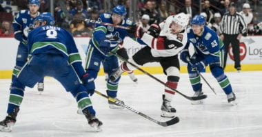 Mike Hoffman and Tyler Toffoli being patient as Taylor Hall narrows his list. Dhaliwal discusses the Vancouver Canucks.