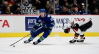 NHL signings from yesterday include Casey Nelson, Dominik Simon, Denis Gurianov, Louie Belpedio, Dmitry Kulikov and Jake Virtanen.