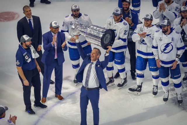 The Tampa Bay Lightning were the bubble two 9 weeks and emerged as the 2020 Stanley Cup Champions. They didn't panic when things weren't going their way.