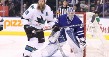 There has been recent speculation that there is a mutual interest between the Toronto Maple Leafs and Joe Thornton, but it's a move that wouldn't make sense.