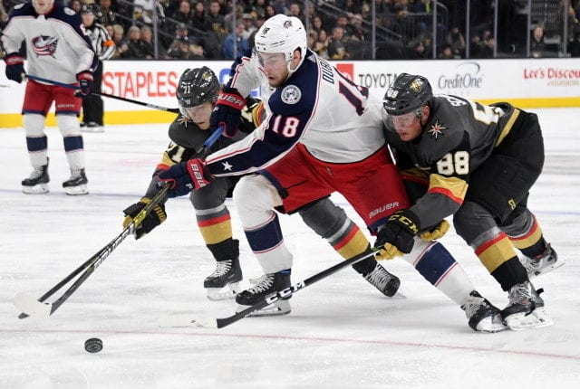 Multiple positive COVID tests for Hockey Canada, Columbus Blue Jackets and the Vegas Golden Knights.