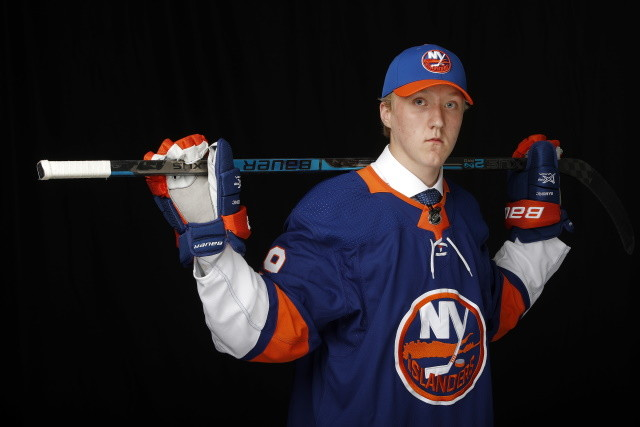 Islanders 2019 first-round pick heading to NY? Oilers looking for a camp site because of the World Juniors, and the Canucks waiting.