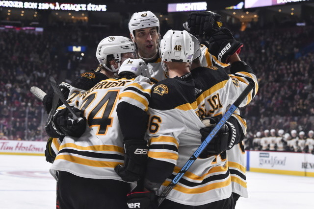 The Boston Bruins don't have a lot of salary cap space left. They need to re-sign Jake DeBrusk, maybe Zdeno Chara, and fill a couple holes.