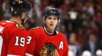 The Chicago Blackhawks could be in need of a full rebuild, but that may not be easy when you have Patrick Kane and Jonathan Toews, though there is some uncertainty surrounding him.