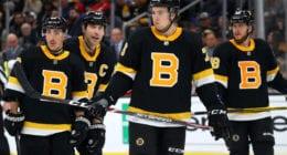 Boston Bruins notes on Zdeno Chara, Charlie McAvoy, Brandon Carlo and Jake DeBrusk