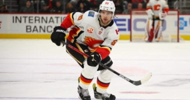 Could the Flames move a left-handed defenseman for a right-handed defenseman? The Red Wings may not be finished adding to their roster.
