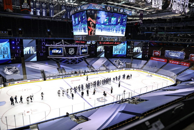 The NHL doesn't have the TV deal that some of the other leagues have. Craig Button sees a scenario where there is no 2020-21 NHL season.
