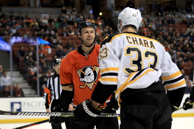The Boston Bruins have some offseason work still to do. Could the Anaheim Ducks be looking to trade Ryan Getzlaf?