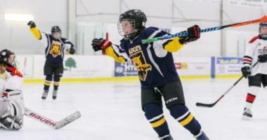 Kids focusing only on hockey may not be the best route to go for their development. Time off and being able to play other sports is important.