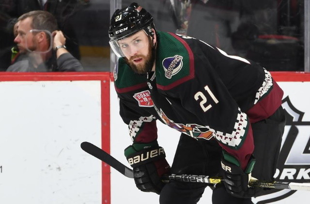 The Ottawa Senators have acquired center Derek Stepan from the Arizona Coyotes for a 2021 second-round pick.