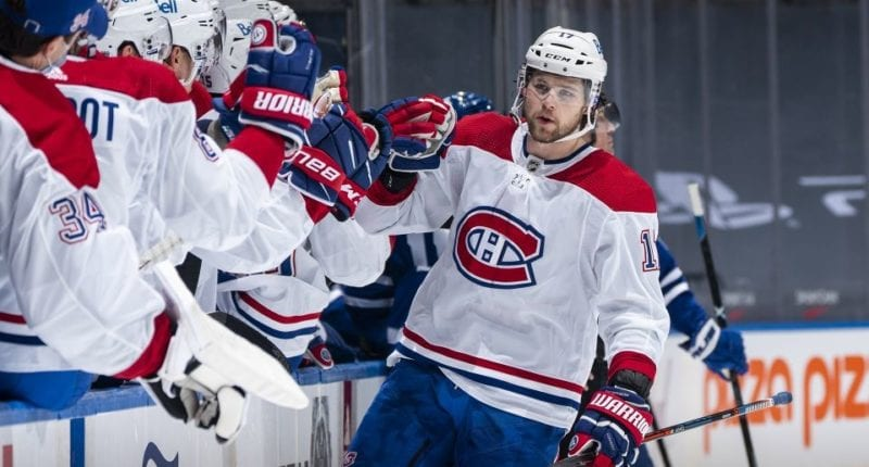 The Montreal Canadiens are undefeated to start the season - all games on the road - and their offseason acquisitions have been a big part of their success.
