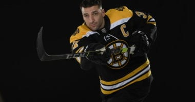 The Bruins have named Patrice Bergeron their new team captain.