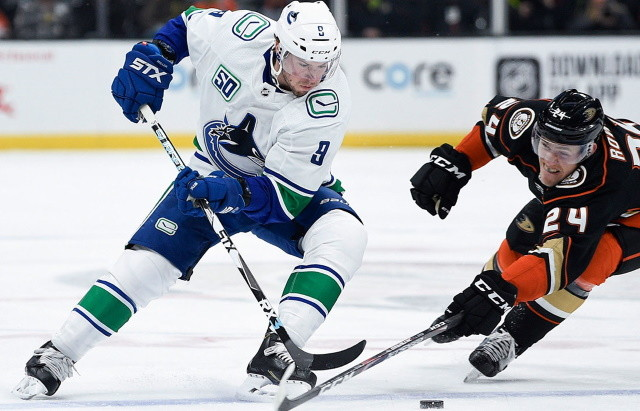 Injury notes from the Bruins, Blackhawks, Stars, Oilers, Canucks and Sabres. Blues Sammy Blais suspended for two games.