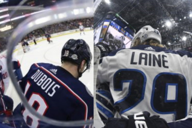 The Columbus Blue Jackets have traded forward Pierre-Luc Dubois and a 2022 third-round pick to the Winnipeg Jets for forwards Patrik Laine and Jack Roslovic.