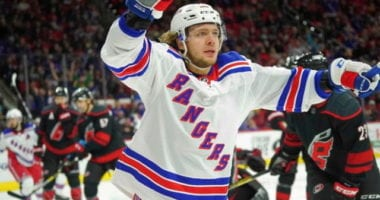 Artemi Panarin takes a leave of absence from the Rangers. Frans Nielsen clears waivers. Sammy Blais has a false positive test.