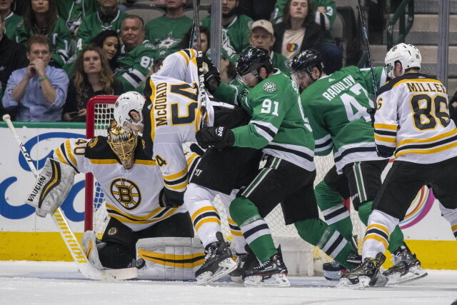 Canadian government reducing quarantine days to seven. Tuukka Rask leaves early. Tyler Seguin has a ways to go. Kasperi Kapanen is week-to-week.