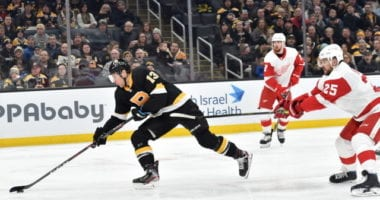 Charlie Coyle likely to be Boston Bruins' second line center to replace David Krejci for now.