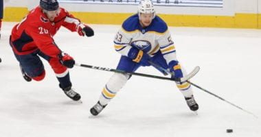 Buffalo Sabres forward Jeff Skinner was a healthy scratch for three games before getting back into the lineup on the weekend. Has he really been struggling or do some numbers say otherwise?