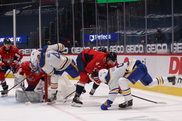 To say things haven't gone the way the Buffalo Sabres had hoped is an understatement. Toss in an injured Jack Eichel and things may have gone from bad to worse.