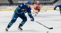 What does Vancouver do with Tanner Pearson?