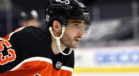 The Philadelphia Flyers put Shayne Gostisbehere on waivers. If he's not claimed it gives them some flexibility.
