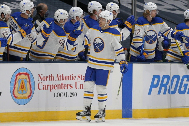 Taylor Hall said he's open to the idea of a trade from the Buffalo Sabres