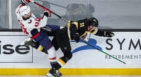 NHL News: Some NHL players are getting vaccinated. NHL injury updates. Tom Wilson suspended for seven games.