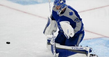 Toronto Maple Leafs No. 1 goaltender Frederik Andersen is sporting a .900 save percentage and 2.86 goal-against average. Jack Campbell has been injured for most of the season, and Michael Hutchinson hasn't been reliable.