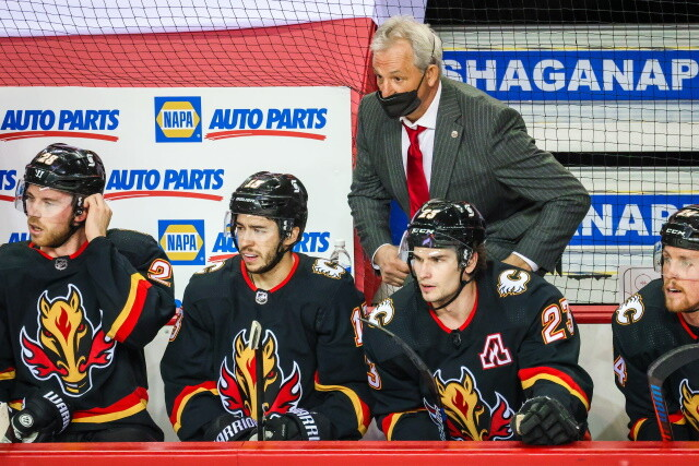 Darryl Sutter is back behind the Calgary Flames bench again, hoping to turn the Flames season around. Sutter is the fourth Flames coach since Brad Treliving took over in 2016.
