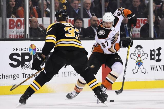 Scouting the Maple Leafs and Senators. Teams interested in Rickard Rakell, who is off the IR. The price for retaining salary.
