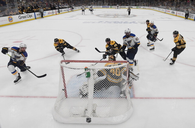 The 2019 Stanley Cup Final featured the St. Louis Blues and Boston Bruins. Fast forward two years and both teams are fighting for a playoff spot.