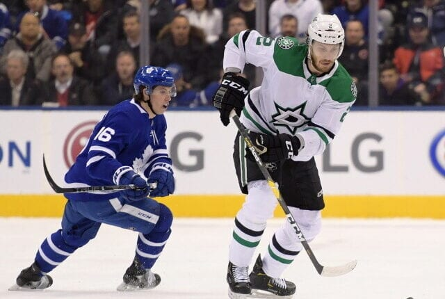 Teams calling Stars about Jamie Oleksiak. Buffalo Sabres talking to multiple teams about Hall. Toronto Maple Leafs interested in Taylor Hall?