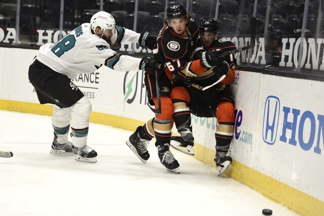 The San Jose Sharks looking at a reset but have a couple of decisions to make this offseason. Anaheim Ducks held firm on their asking price.