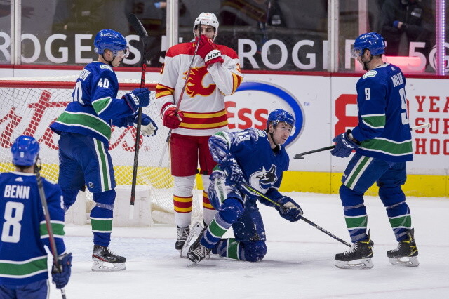 Two Vancouver Canucks of COVID list, team practice today. Senators sign Mads Sogaard. Linus Ullmark injured. Matt Murray to play.