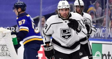 Los Angeles Kings talking to two pending free agents ahead of the deadline. Notee on Scott. Laughton. Derek Ryan on being in the rumor mill