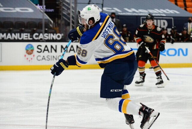 Could the Montreal Canadiens be interested in St. Louis Blues Mike Hoffman? The San Jose Sharks traded Dubnyk yesterday, are they done?