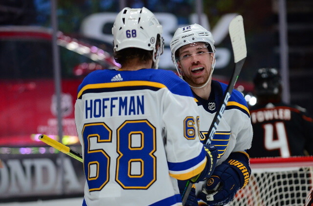 Could the Blues move Mike Hoffman? Things are quiet with the Calgary Flames. Montreal Canadiens GM Marc Bergevin on the trade deadline.