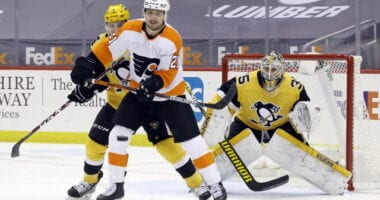 Scott Laughton to Penguins rumors persist. Ron Hextall waits and waits and waits to make a decision on what to do with the Pittsburgh Penguins