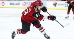 Teams calling Coyotes about Conor Garland. Jonathan Bernier to Capitals makes sense. Ducks - Penguins trade unlikely. NHL trade bait board.