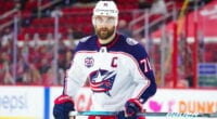All is quiet so far on the trade front. It may be up to Nick Foligno if he's traded. A few Columbus Blue Jackets trade candidates.