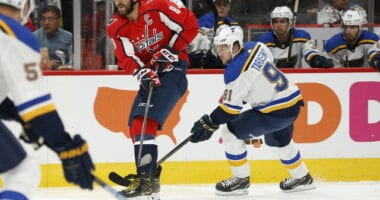 Taking a look a some of the offseason questions that the Washington Capitals and St. Louis Blues are facing this offseason.