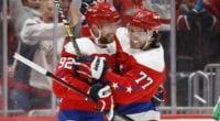 Washington Capitals GM on Evgeny Kuznetsov and their defense.