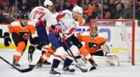 Will the Washington Capitals listen to trade offers on Evgeny Kuznetsov? The Philadelphia Flyers won't be making radical changes this offseason.