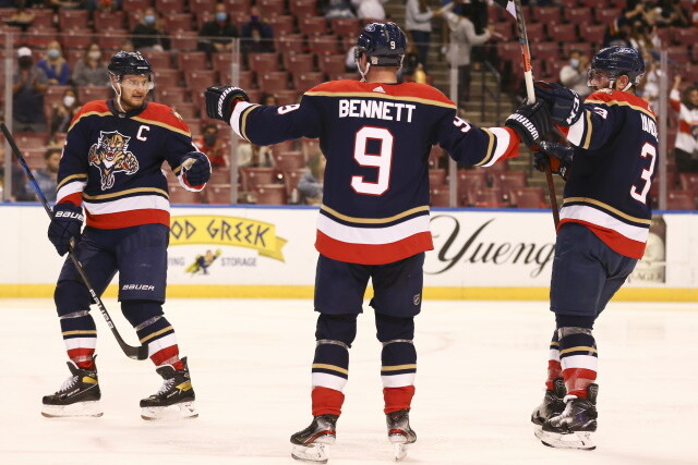 Panthers will look to lock up Sam Bennett and Aleksander Barkov. Coyotes could explore Phil Kessel and Oliver Ekman-Larsson trades