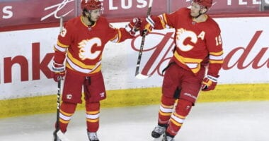 Looking at the probabilities of Calgary Flames free agents coming back. The Flames could make makes to their core this offseason.
