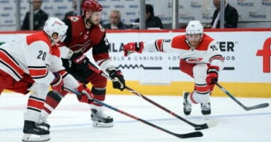 Dougie Hamilton situation may not play out until closer to the start of free agency. Coyotes will explore an Oliver Ekman-Larsson trade again.
