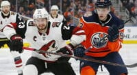 Rangers may not be in on Jack Eichel. Oilers Ryan Nugent-Hopkins and Tyson Barrie. Are they interested in Oliver Ekman-Larsson, Nolan Patrick