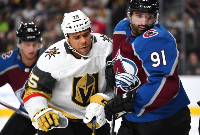 Playoff Brackets for the next round are set. Gary Bettman upholds Nazem Kadri's suspension. Ryan Reaves suspended for two games.