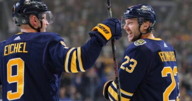 The Buffalo Sabres prepare to flip the depth chart around a lot!