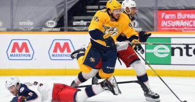 Matt Duchene wants to stay in Nashville. Panthers will talk to Aleksander Barkov soon. Potential landing spots for Seth Jones.